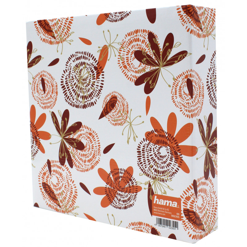 album photo Lily orange 200 pochettes 10x15
