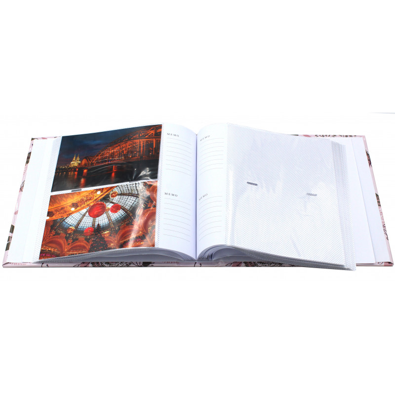 Album photo Lily bleu vert 200 pochettes 10x15