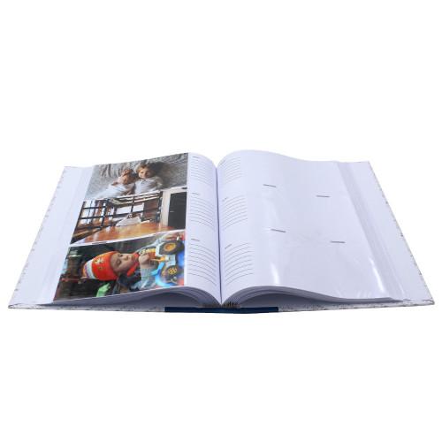 Album photo Viva bleu 300 pochettes 10X15 avec photo