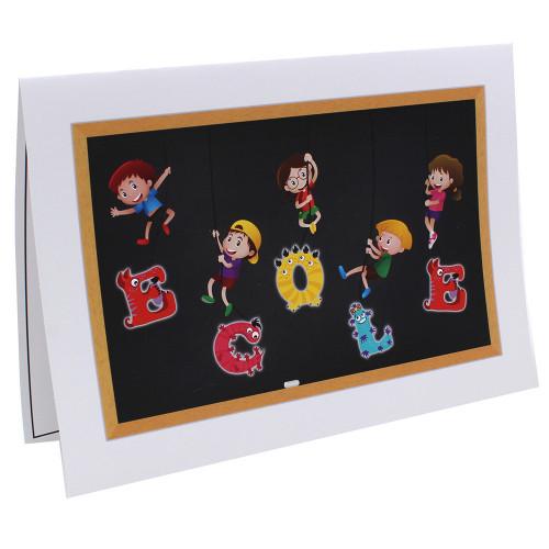 Cartonnage photo scolaire - Groupe 20x30 - Ecole