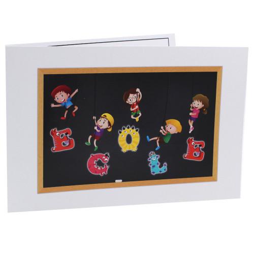 Cartonnage photo scolaire - Groupe 20x30 -18x25 - Ecole