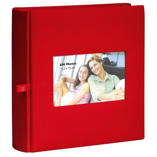 Album  photo Square rouge Erica 300 pochettes 11,5X15