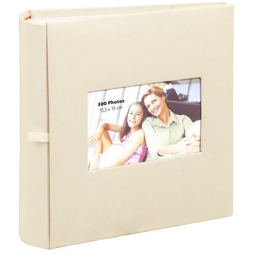 Album  photo Square beige Erica 300 pochettes 11,5X15