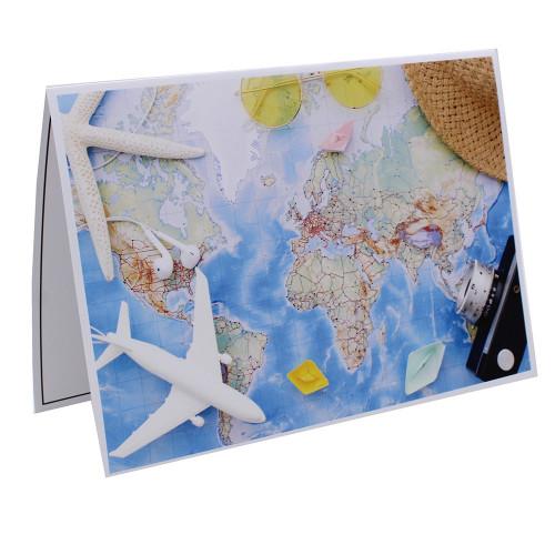 Cartonnage photo scolaire - Groupe 20x30 - Carnet de voyage