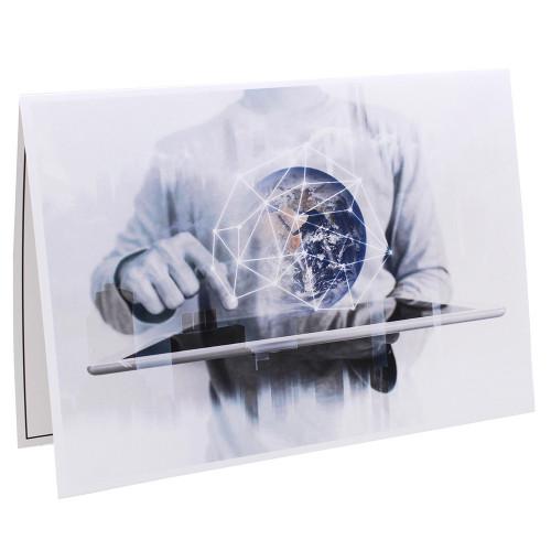 Cartonnage photo scolaire - Groupe 20x30 - Halo Fi