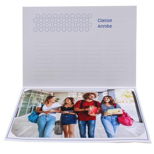 Cartonnage photo scolaire - Groupe 20x30 - Le Monde d'apres-intérieur
