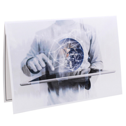 Cartonnage photo scolaire - Groupe 18x24 - Halo Fi