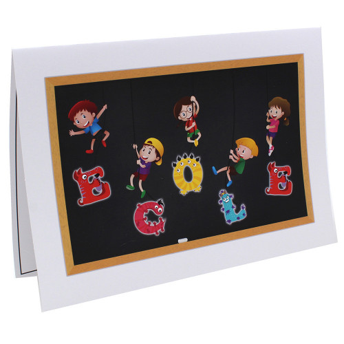 Cartonnage photo scolaire - Groupe 18x24 - Ecole
