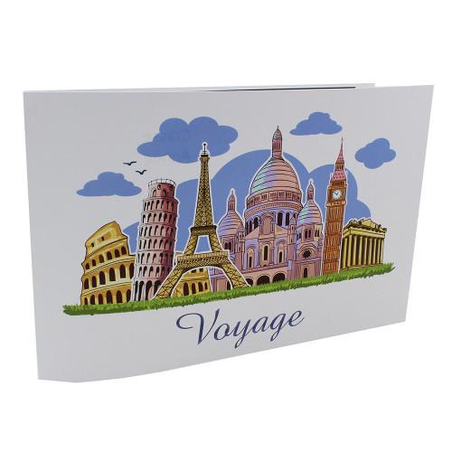 Cartonnage photo scolaire - Groupe 20x30 -18x25 - Voyage