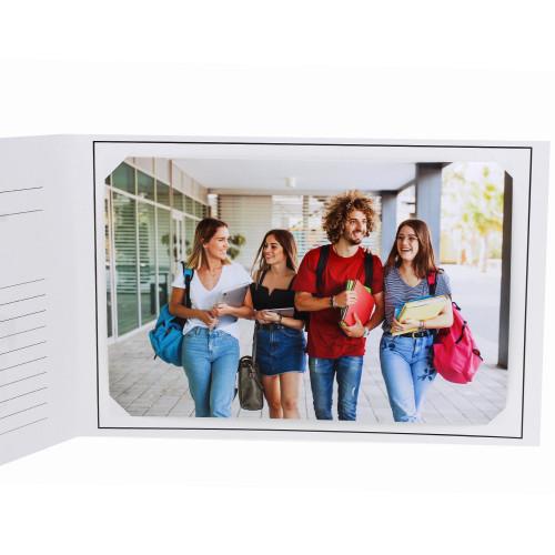 Cartonnage photo scolaire - Groupe 20x30 -18x25 - Voyage-interieur avec photo