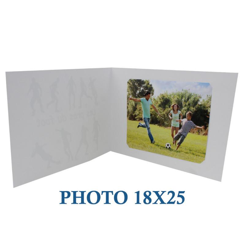 Cartonnage photo scolaire - Groupe 20x30-18x25 - Crayons-avec photo 18x25