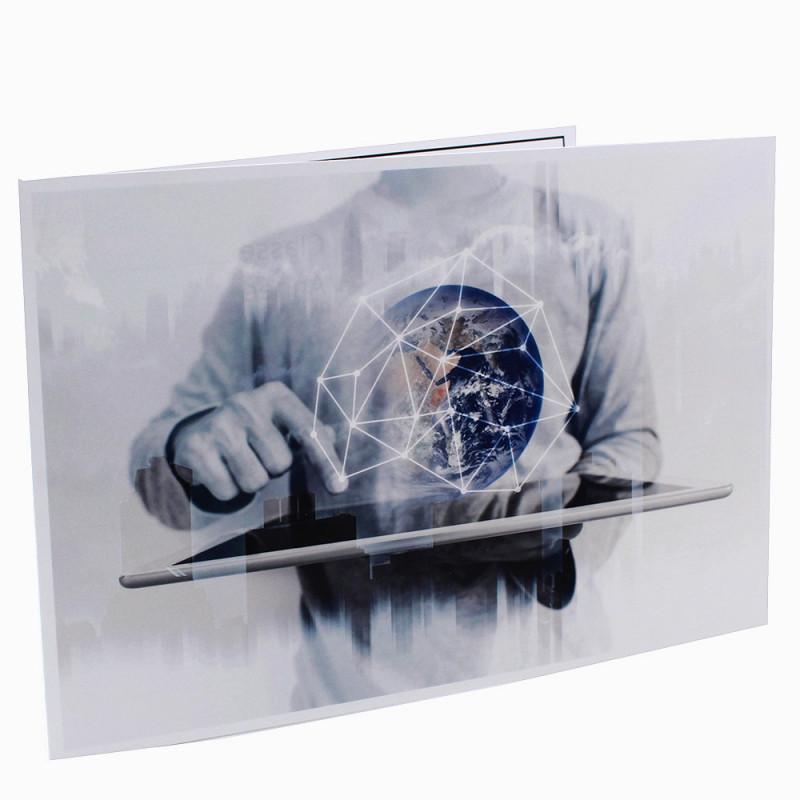 Cartonnage photo scolaire - Groupe 20x30-18x25 - Halo Fi