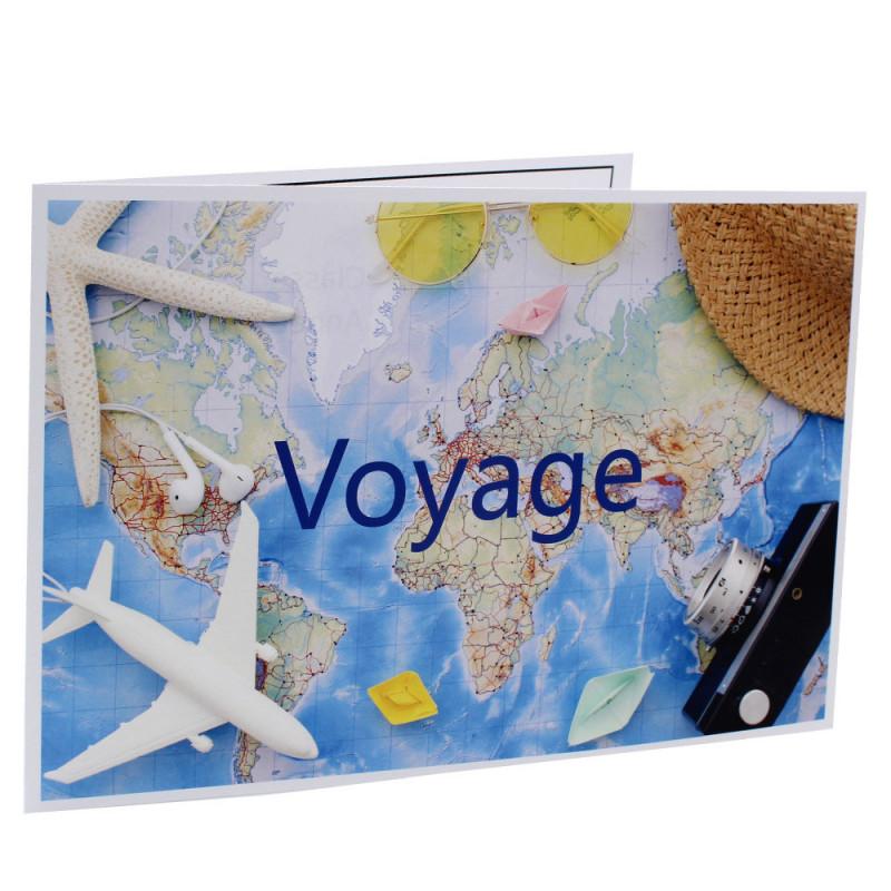Cartonnage photo scolaire - Groupe 20x30-18x25 - Carnet de voyage
