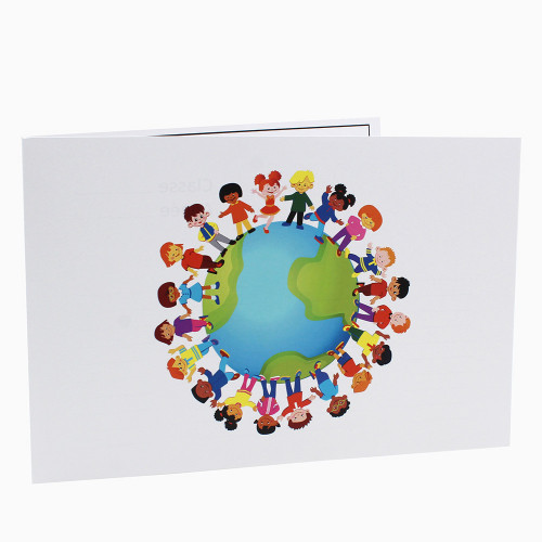 Cartonnage photo scolaire - Groupe 20x30-18x25 - Terre 2