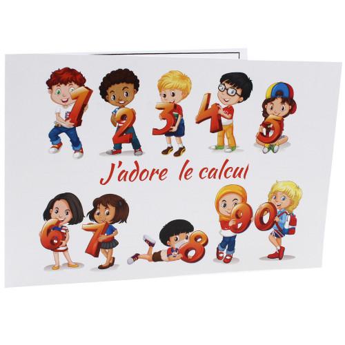 Cartonnage photo scolaire - Groupe 20x30 -18x25 - Calcul