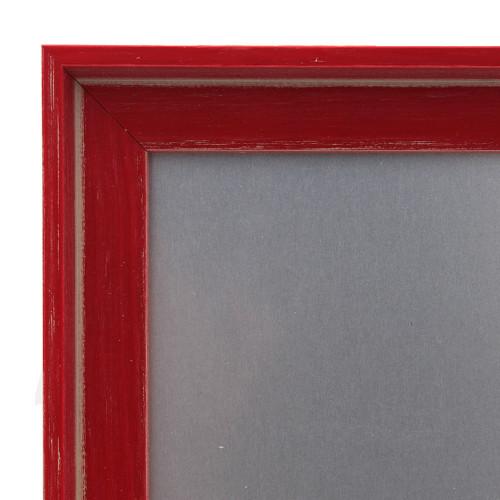 Pêle-mêle magnétique Canape Rouge 40X50 fond alu-detail