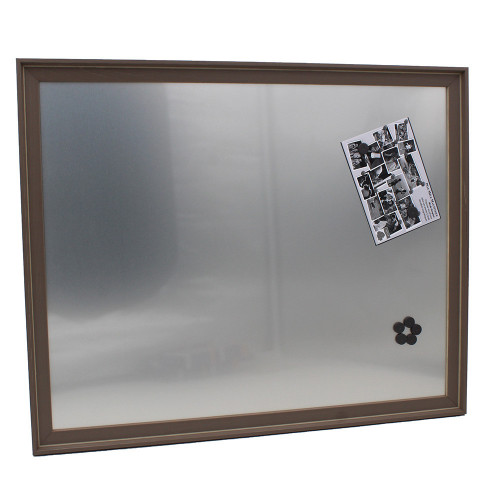 Pêle-mêle magnétique Canape Taupe 40X50 fond alu