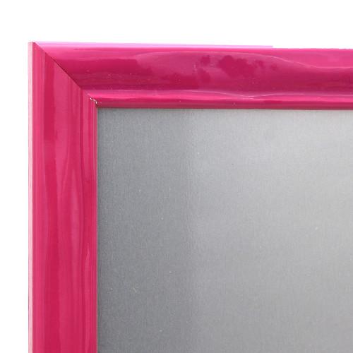 Pêle-mêle magnétique Pepsy rose 40X50-detail moulure