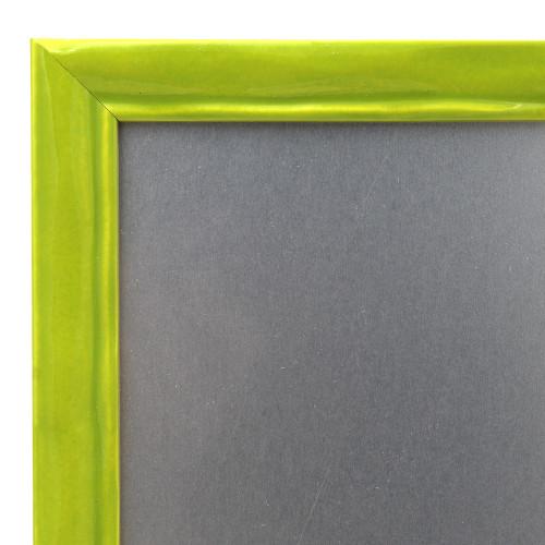 Pêle-mêle magnétique Pepsy vert anis 40X50-detail moulure