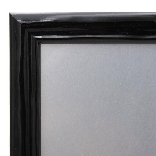 Pêle-mêle magnétique Pepsy noir 40X50-detail moulure