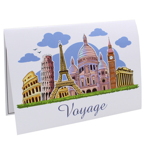Cartonnage photo scolaire - Groupe 20x30 - Voyage