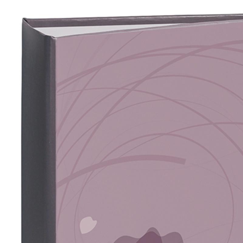 album photo Ellypse 2 violet 300 pochettes 11,5x15 ouvert avec photos détail