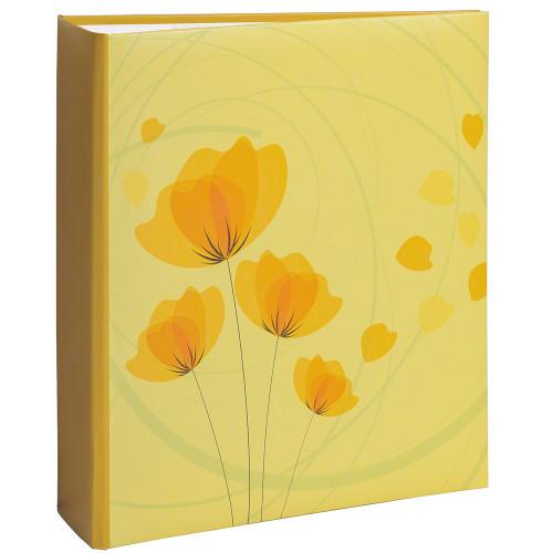 Album photo Ellypse 2 jaune 200 pochettes 11,5 x15 cm