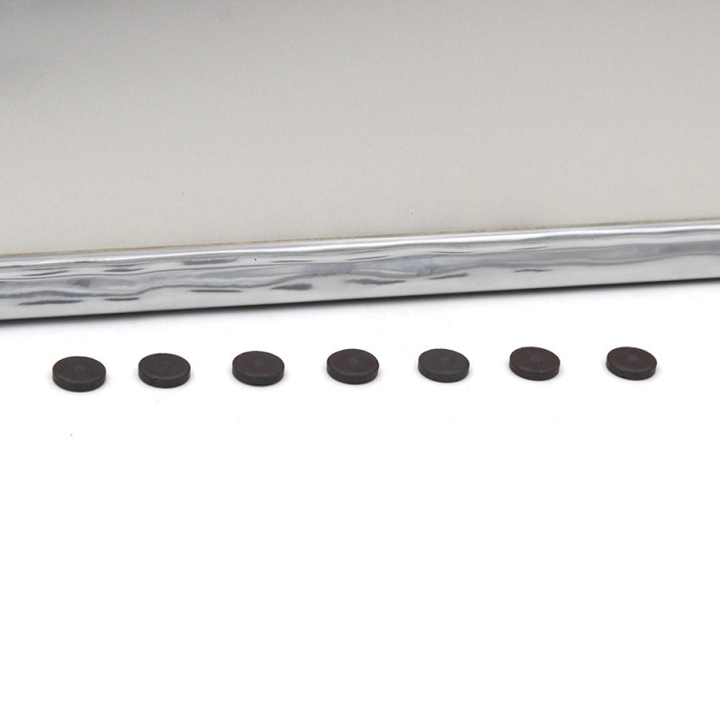 Pêle-mêle magnétique Pepsy argenté 40X50-aimants