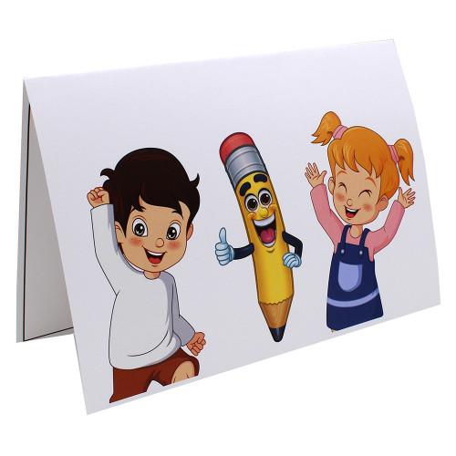 Cartonnage photo scolaire - Groupe 20x30 - Smile 1