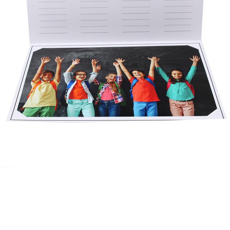 Cartonnage photo scolaire - Groupe 20x30 - Smile 2-detail inrerieur