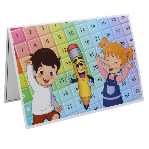 Cartonnage photo scolaire - Groupe 20x30 - Smile 2