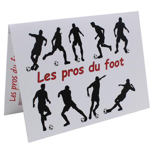Cartonnage photo Combi A4 les pros du foot