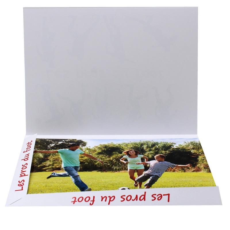 Cartonnage photo Combi A4 Les pros du foot avec photo