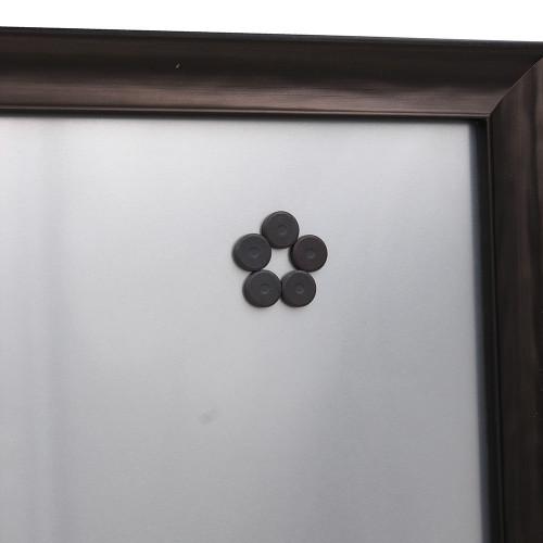 Pêle-mêle magnétique Design bronze 40X50 avec aimants