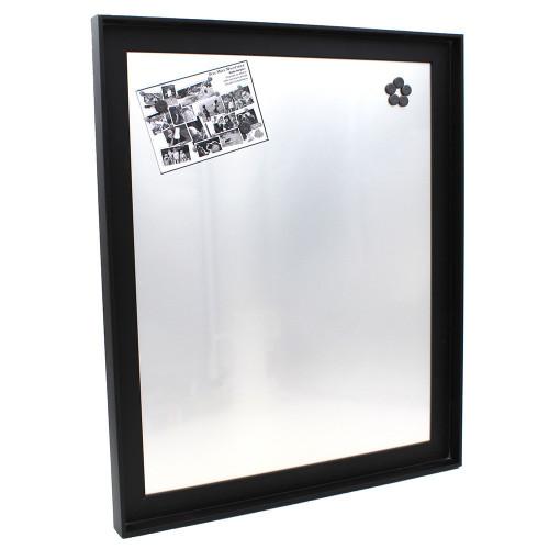 Pêle-mêle magnétique Canape Noir 40X50 fond alu