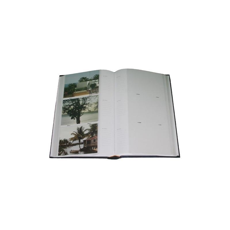lot 3 albums photo Marbre brun 300 pochettes 11.5x15 ouvert avec photos
