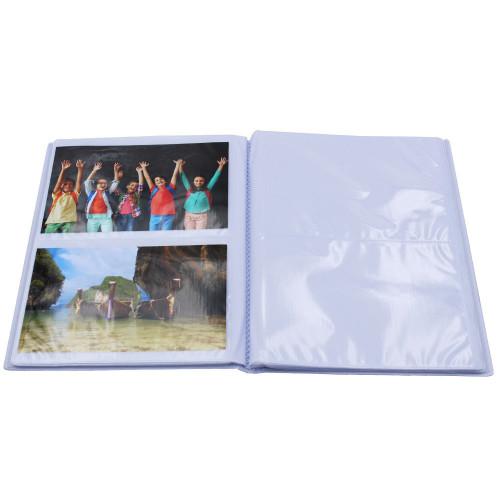 Lot de 12 albums  photos  Grand Horizon 64 pochettes 11x15-pochettes aves images