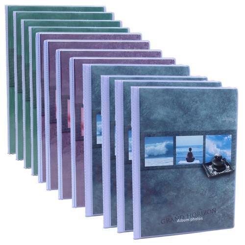 Lot de 12 albums  photos  Grand Horizon 64 pochettes 11x15