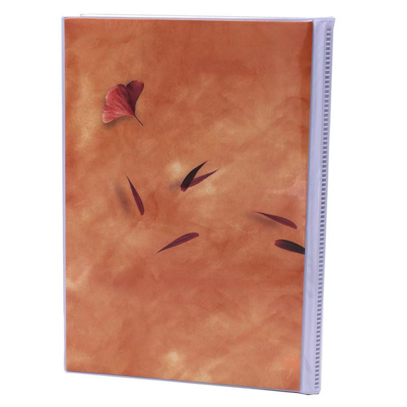 Lot de 12 albums  photos  Emotion 64 pochettes 11x15-orange dos