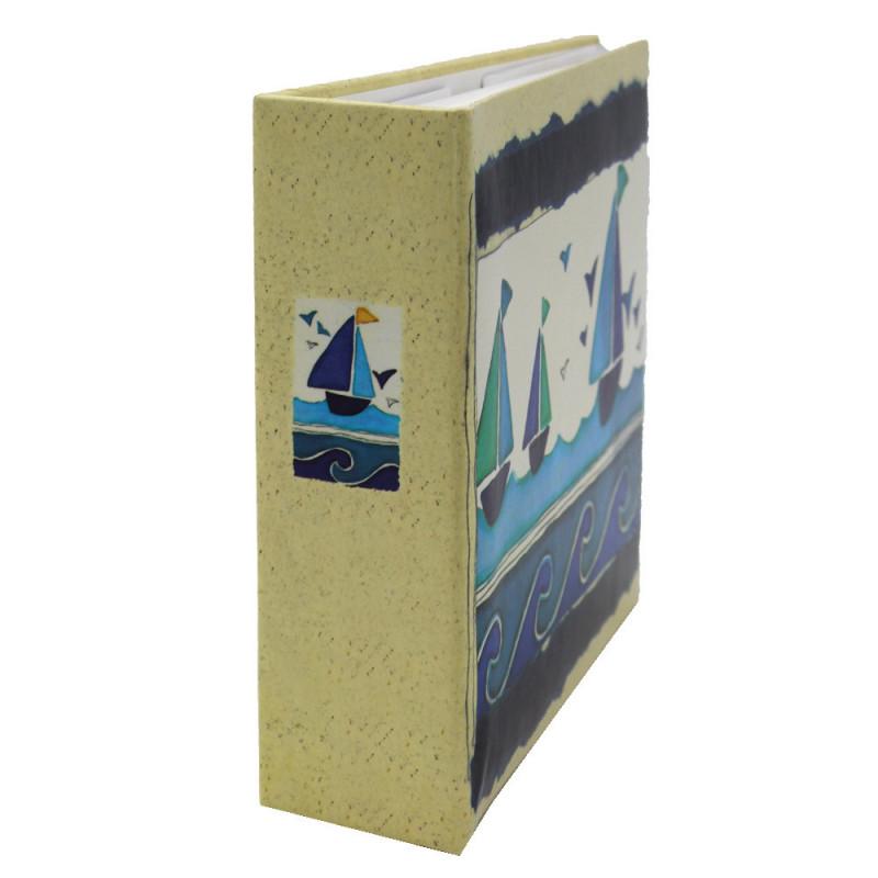 Lot de 12 albums photos Océan 72 pochettes 11x17-tranche bateau
