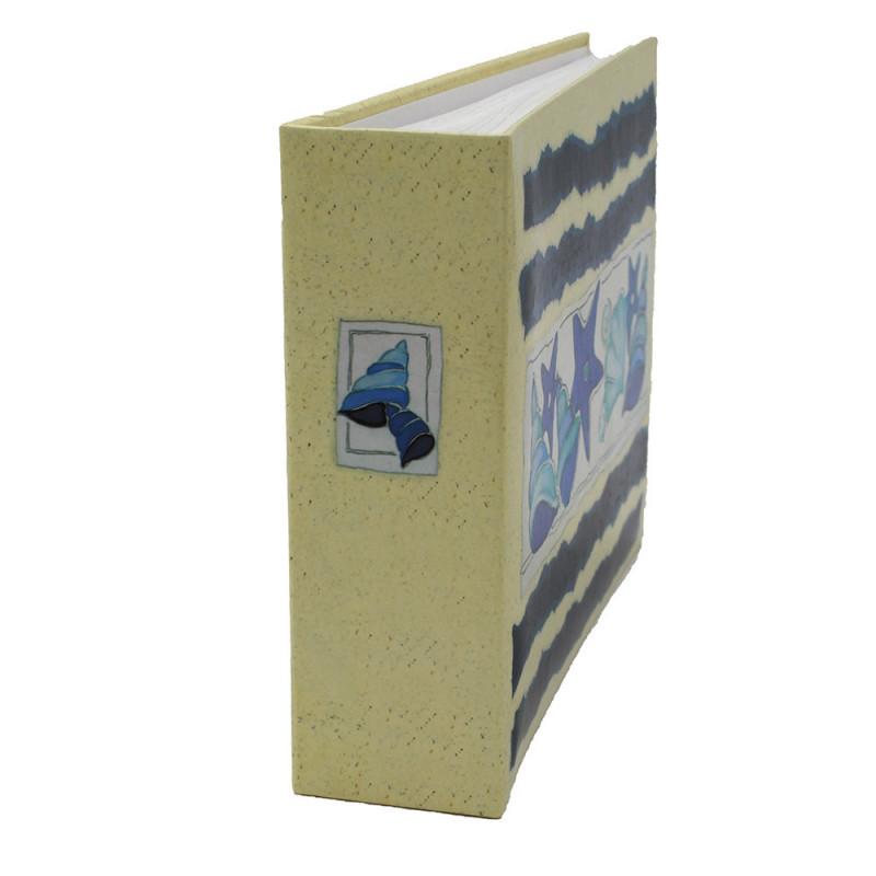 Lot de 12 albums photos Océan 72 pochettes 11x17-tranche coquillage