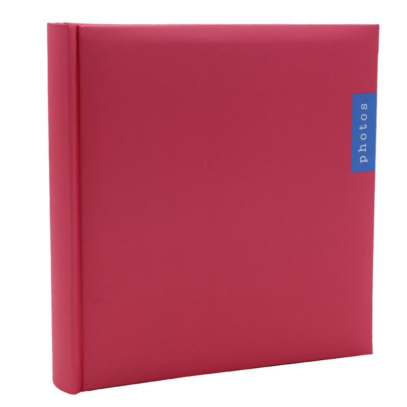 Album photo Couleur rose 200 pochettes 13x18