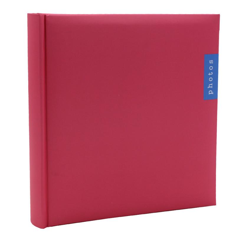 Lot de 3 albums photo Couleur 100 pochettes 13x18-face rose