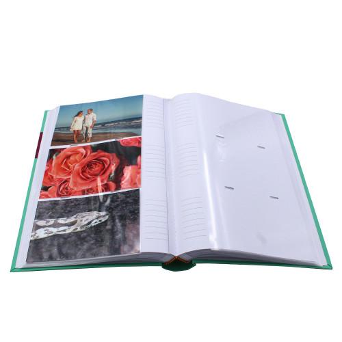 Album photo Couleur vert 300 pochettes 10x15 cm-pochettes avec photos-pochettes avec photos