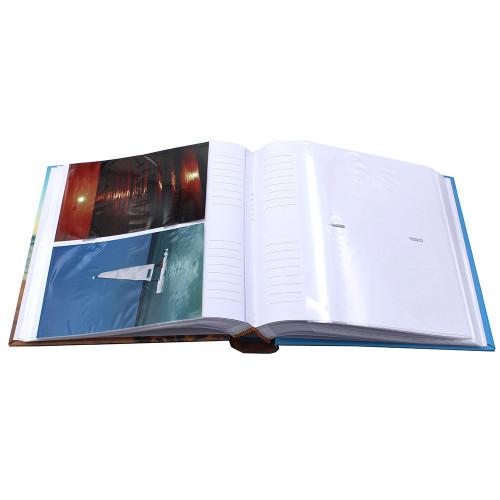 Lot de 2 albums photo FR 200 pochettes 13x18-ouvert avec photos