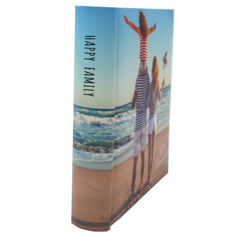 Lot de 2 albums photo FR 200 pochettes 13x18-famille tranche