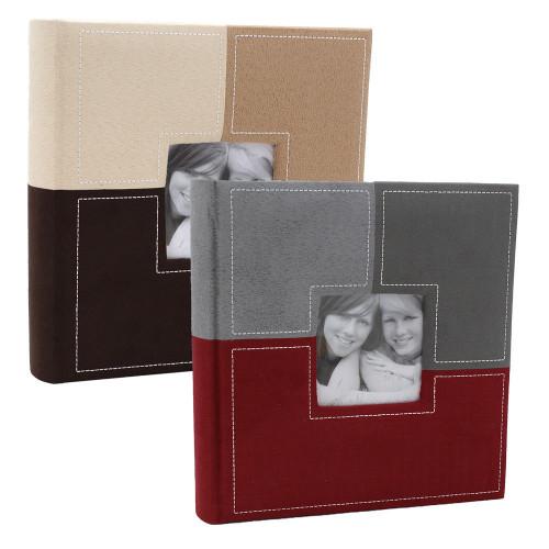 Lot de 2 albums photo Sections  MR 200 pochettes 10X15
