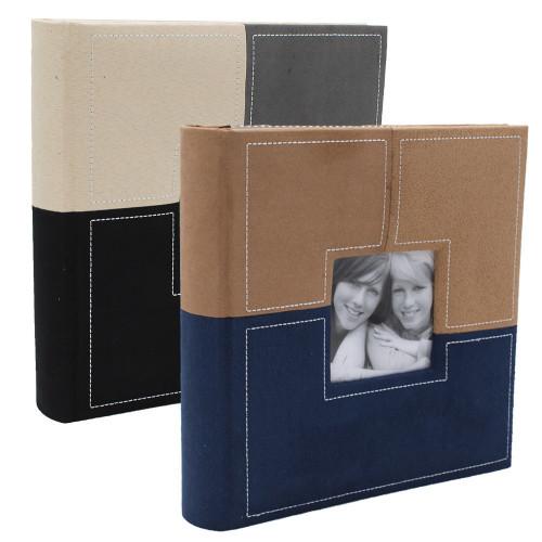 Lot de 2 albums photo Sections BN 200 pochettes 10X15