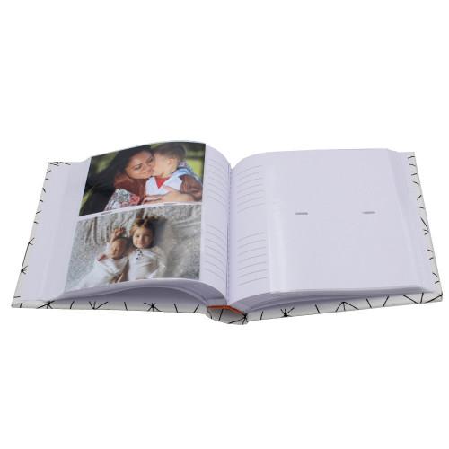 Lot de 2 albums photo Design 200 pochettes 10X15-pochettes avec photos