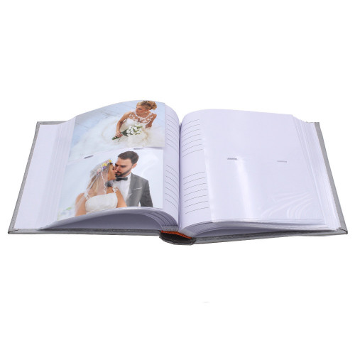 Lot de 2 albums photo Binary 200 pochettes 10X15-pochettes avec photos